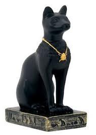 Statue of cat