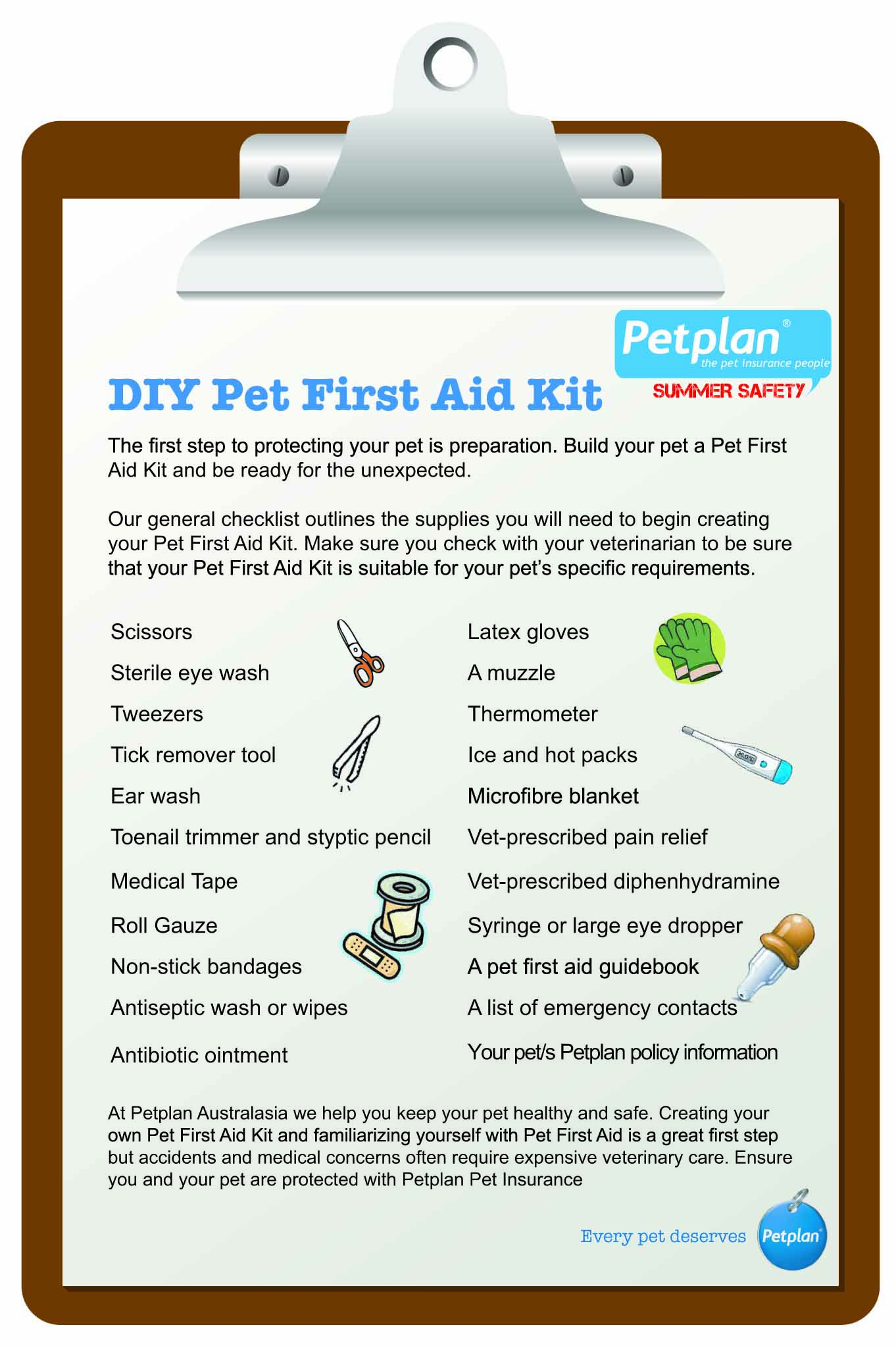 summer safety diy pet first aid kit-01