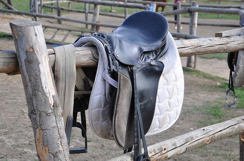 horse saddle au